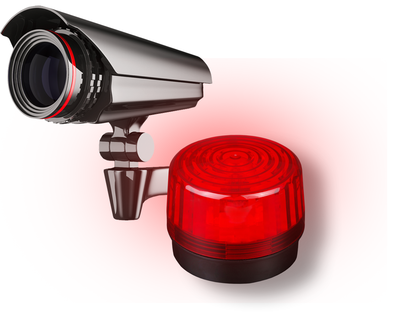 Allarmi tradizionali: telecamera e sirena